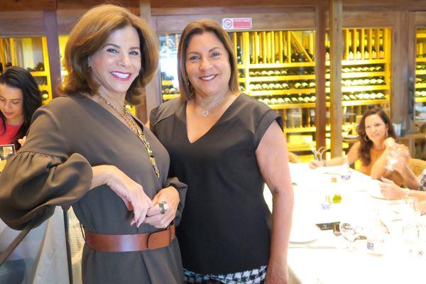 Maita Mota e Heliane Duarte. Crédito: Mônica Zorzanelli