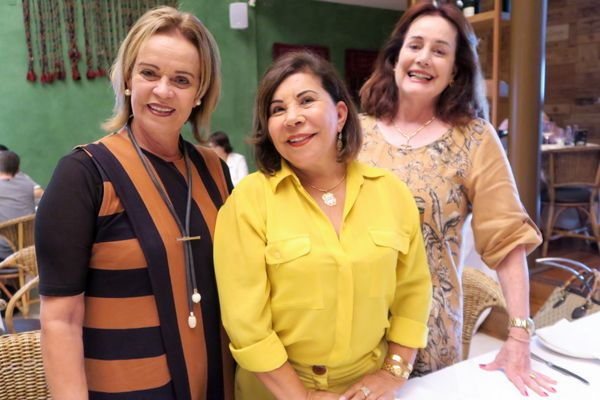 Rita Garajau, Luzia Toledo e Diana Murad. Crédito: Mônica Zorzanelli