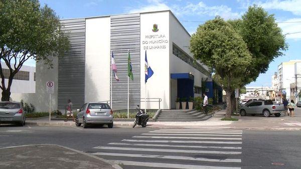 Prefeitura de Linhares . Crédito: Tv Gazeta Norte