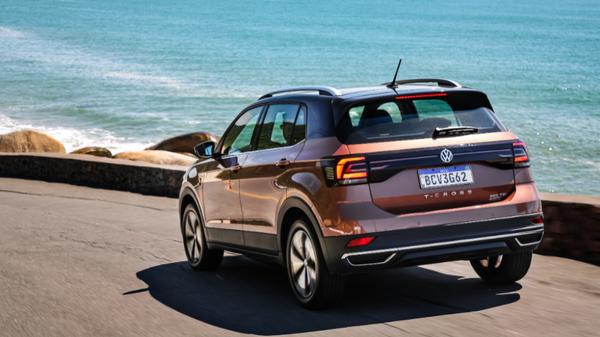 O SUV obteve classificação máxima nos testes de segurança realizados pelo Latin NCAP. Crédito: Volkswagen/Divulgação