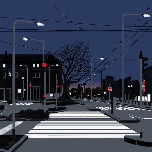 O olhar do ilustrador italiano Emiliano Ponzi para os efeitos do isolamento na cidade