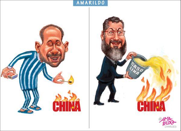 Confira a charge do Amarildo de 22/03/2020. Crédito: Amarildo