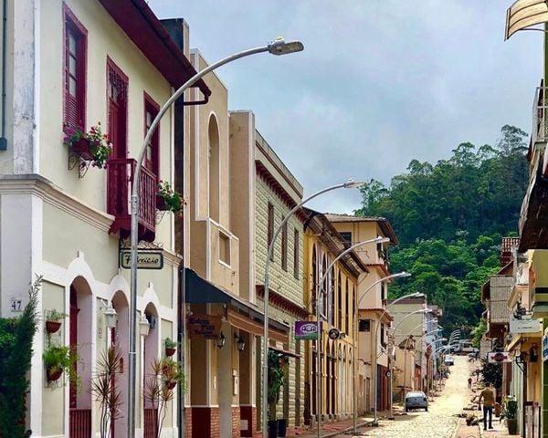 Rua de Lazer, em Santa Teresa