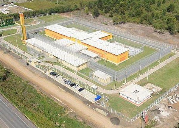 Centro de Detenção Provisória de São Mateus. Crédito: Divulgação/Prefeitura de São Mateus