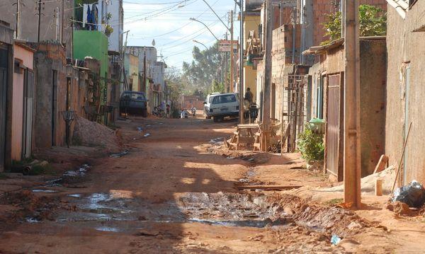 IBGE mostra alto índice de aglomeração em residências carentes. Crédito: Arquivo   Agência Brasil