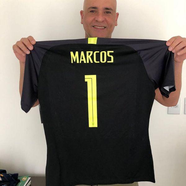 Ex-goleiro Marcos, que atuou pelo Palmeiras e pela seleção brasileira. Crédito: Reprodução/ Instagram