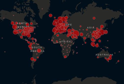 Resultado de imagem para coronavírus mundo