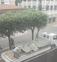 Bancos são retirados de avenida para evitar aglomeração de idosos em Marilândia . Crédito: Leitor