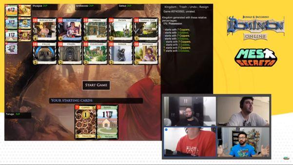 Canal do YouTube Mesa Secreta: jogos virtuais viram moda para passar o tempo na quarentena