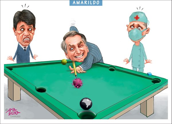 Confira a charge do Amarildo de /03/2020