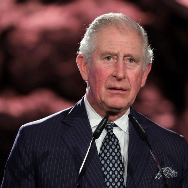 O príncipe Charles, filho mais velho da rainha Elizabeth II