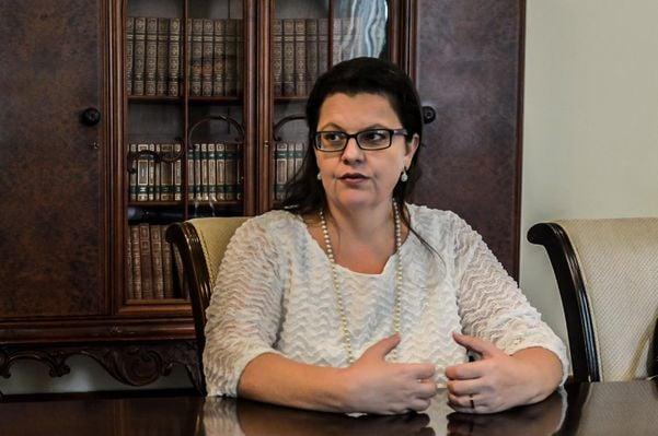 Promotora de Justiça Luciana Andrade