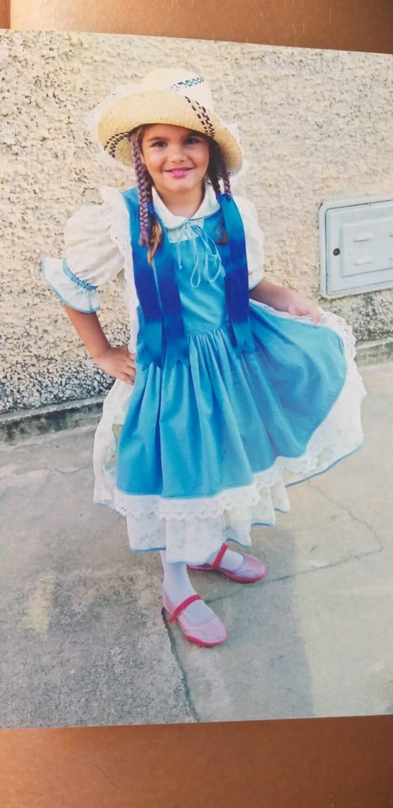 Ramona quando criança