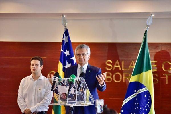 Ronaldo Caiado, governador de Goiás