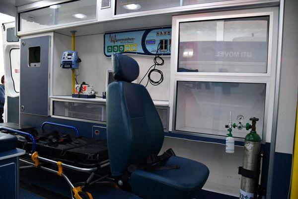 s unidades contam com respirador completo e outros equipamentos