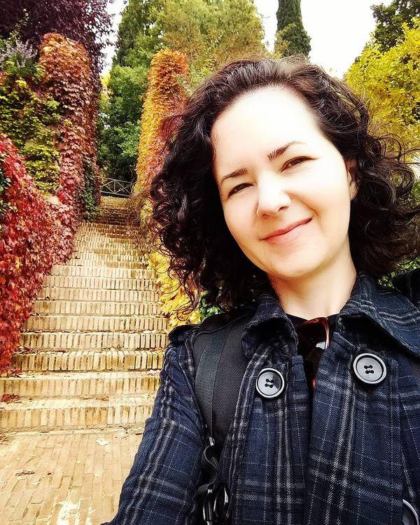 Sabrina Simon que vive na Itália