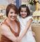 Anna Carolina Passos e a filha Valentina, de seis anos. Crédito: Arquivo pessoal