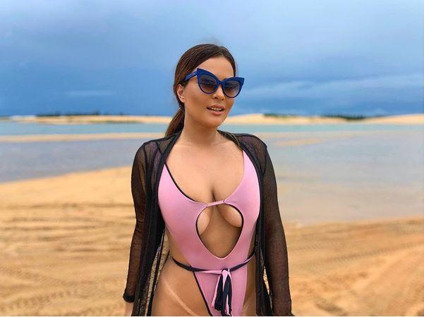 A modelo Geisy Arruda