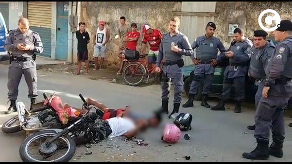 Homens ficam feridos após tentativa de fuga