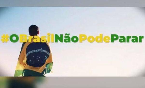 Campanha O Brasil não pode parar