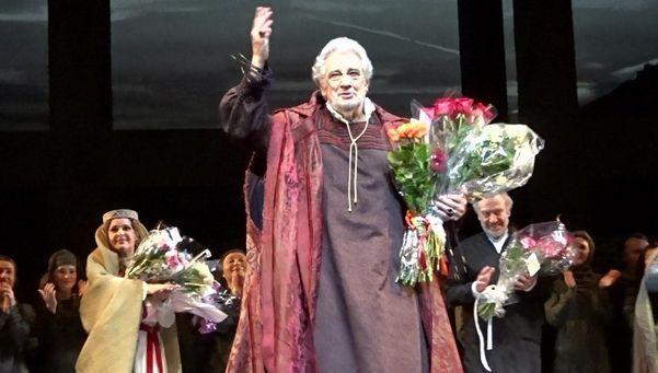 O músico espanhol Plácido Domingo, de 79 anos, conhecido como