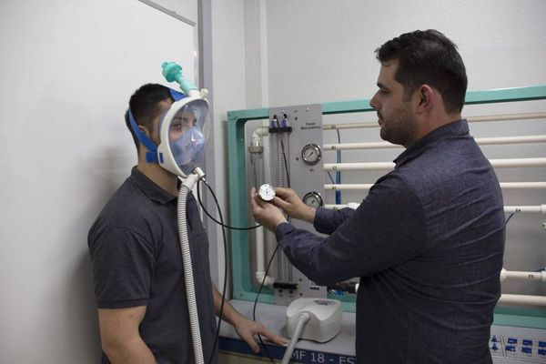 Máscaras de mergulho serão utilizadas no tratamento de pacientes com Covid-19