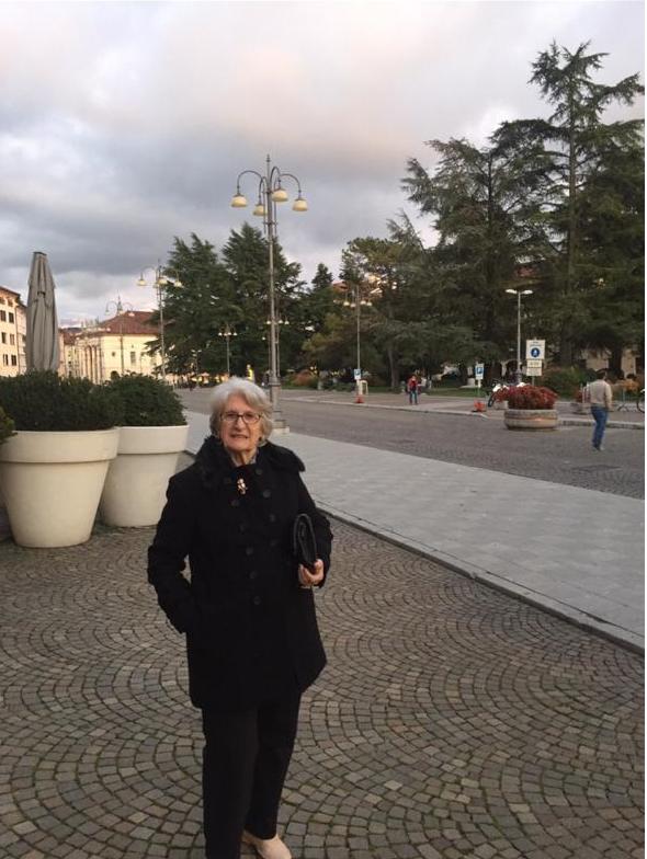 Nerina em Belluno, província italiana onde nasceu
