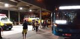 Passageiro foi esfaqueado em ônibus da linha 613, que saiu do Terminal de Vila Velha e seguia para o bairro Ponta da Fruta.