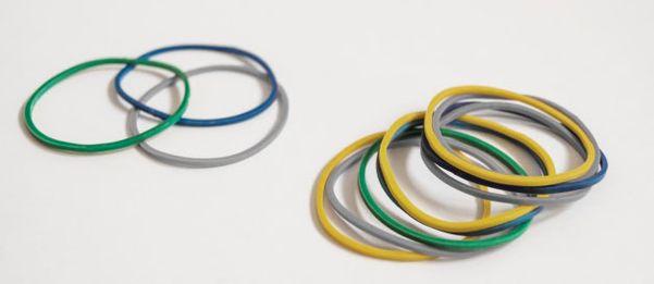 Elásticos podem ser utilizados na confecção de máscaras caseiras
