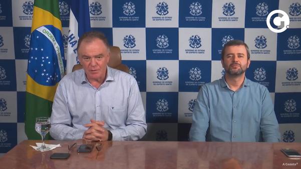 Governador Renato Casagrande e o Secretário de Saúde Nésio Fernandes anunciaram mais um ciclo do Programa Estadual de Qualificação da Atenção Primária à Saúde (Qualifica-APS)