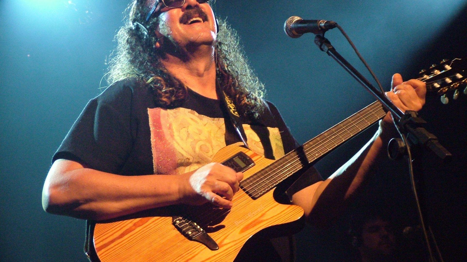 Moraes Moreira no palco