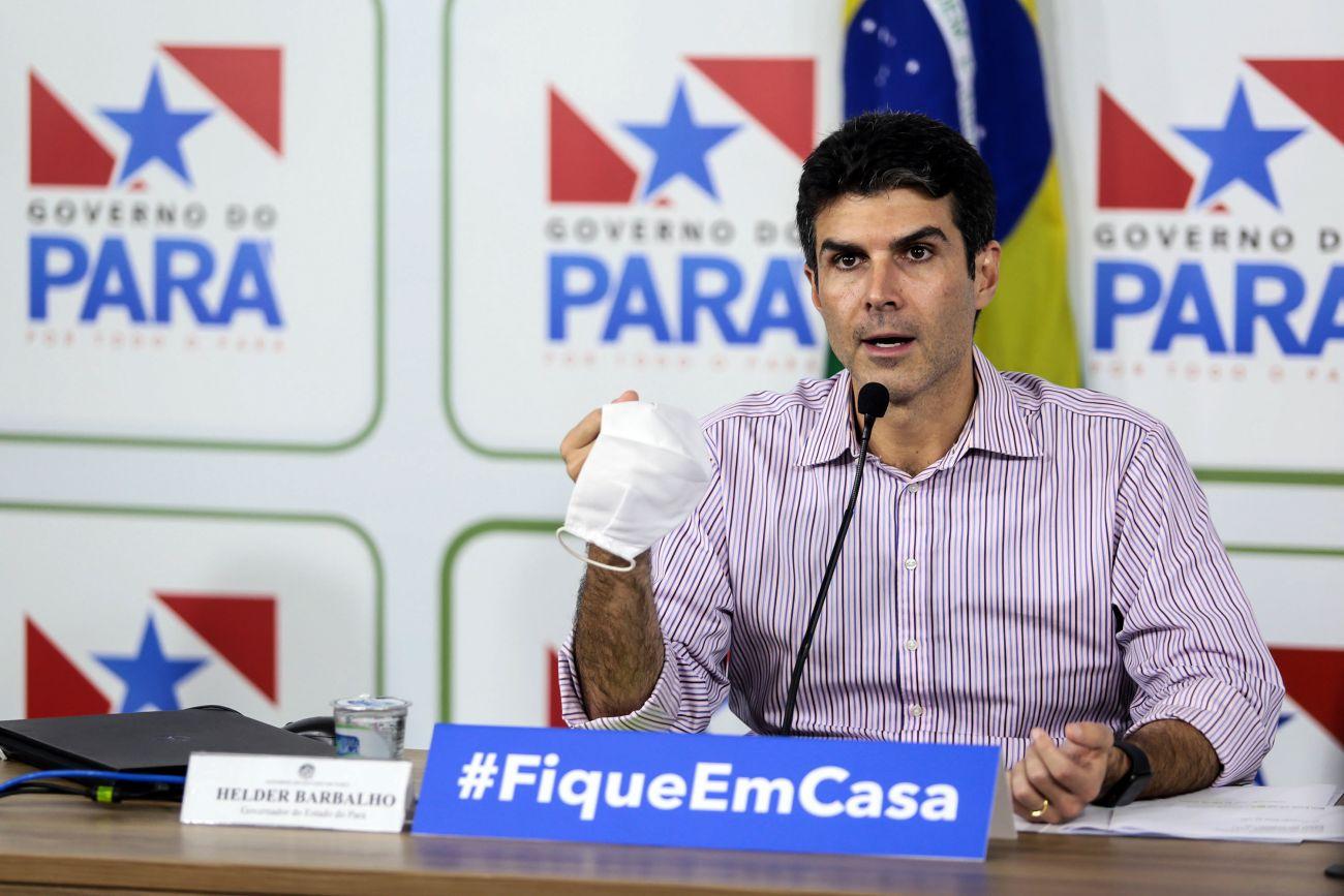 Governador do Pará, Helder Barbalho diz que está com Covid-19   A ...