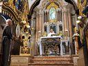 Padre Diego Carvalho, na celebração noturna na capela, retomou o tema dos discípulos no caminho de Emaús