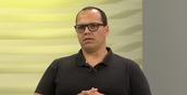 O médico intensivista Eduardo Castro em entrevista à TV Gazeta