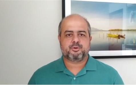 Leonardo Krohling, representante do Comitê dos Impactos da Covid-19 de Vitória
