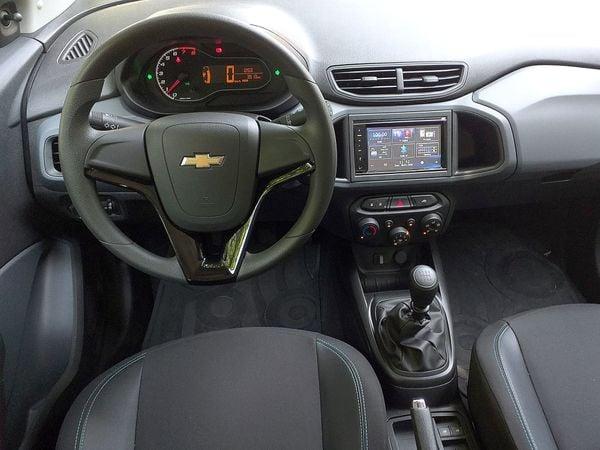 Chevrolet Joy Na Versao Black E O Mais Equipado Do Hatch A Gazeta