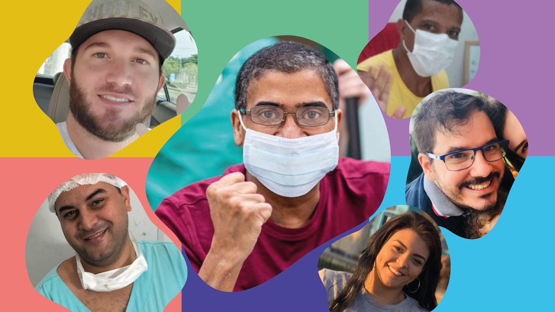 Pacientes curados do coronavírus