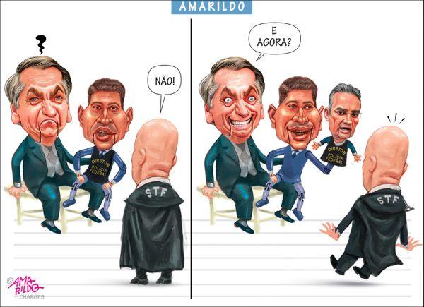 Confira a charge do Amarildo de /05/2020