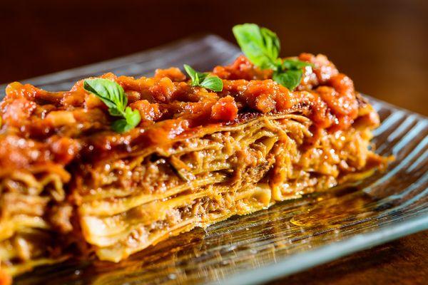 Lasagna di manzo in salsa di pomodoro di Soeta