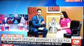 Regina Duarte em entrevista à CNN Brasil