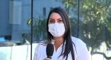 A Gerente de Assistência Farmacêutica do Espírito Santo, Gabrieli Freitas, em entrevista à TV Gazeta