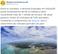 Twitter do Ministério do Infraestrutura informa que projeto de porto da Petrocity será em Vitória e usa foto de Aracruz . Crédito: Reprodução