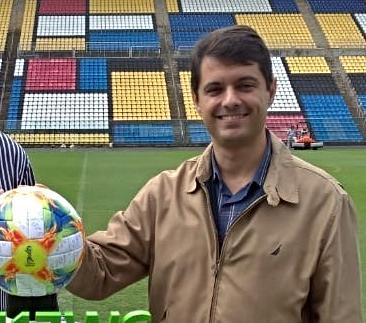 Gustavo Vieira, presidente da FES