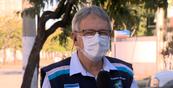 O subsecretário estadual de Vigilância em Saúde, Luiz Carlos Reblin, em entrevista à TV Gazeta