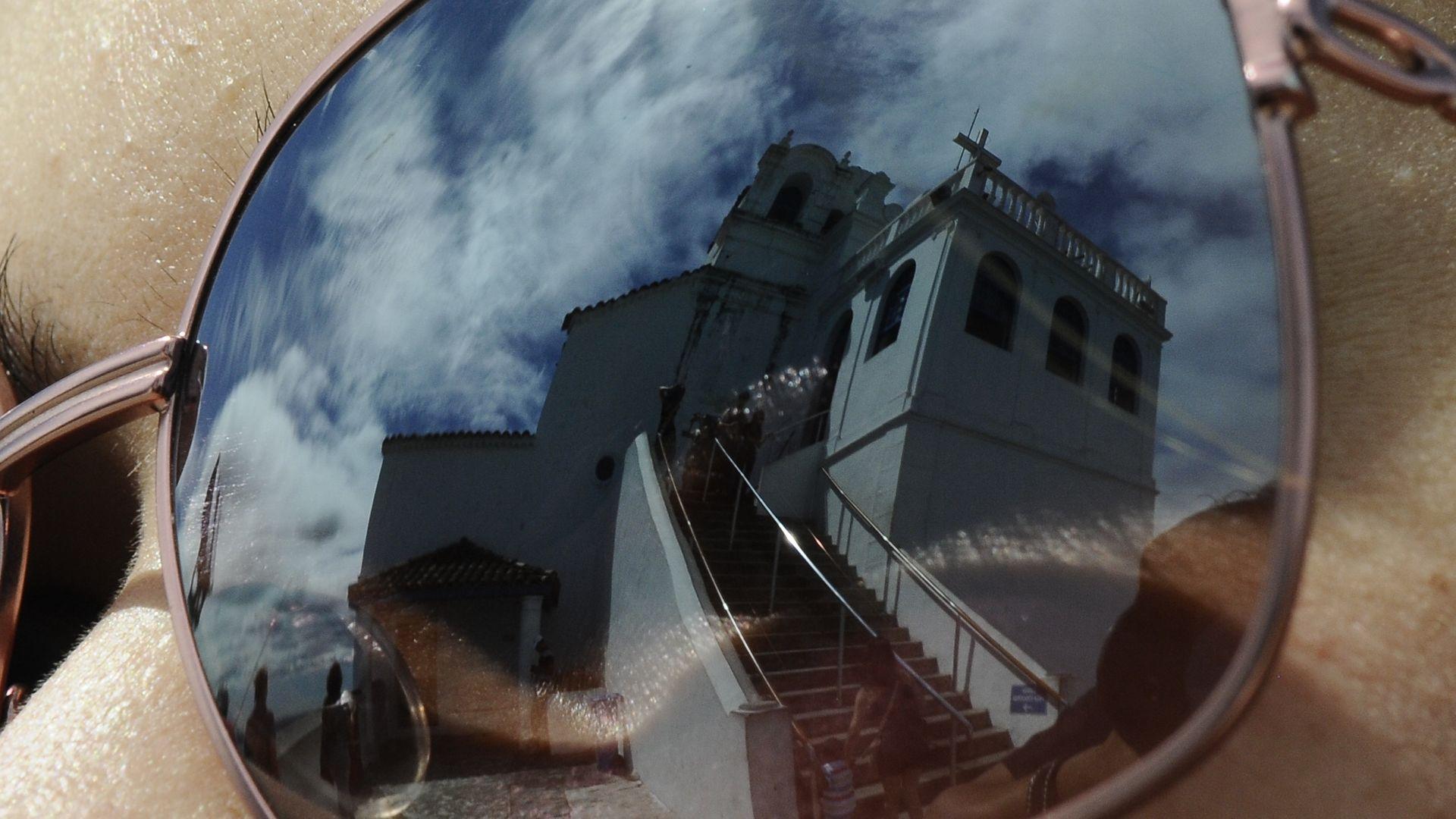 Data: 17/04/2014 - ES - Vila Velha - Imagens do Convento da Penha - Editoria: Cidade - Foto: Carlos Alberto Silva - NA
