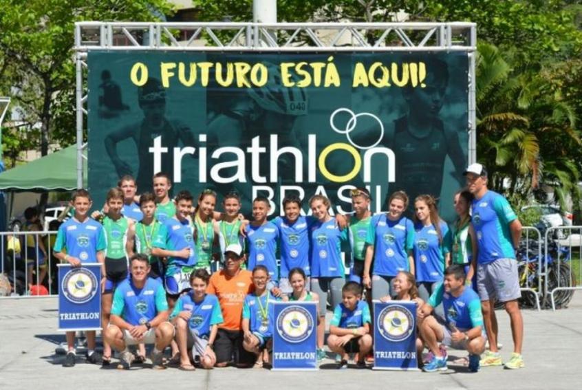 Crédito: Projeto Escolinha de Triatlo será um dos projetos beneficiados - Reprodução