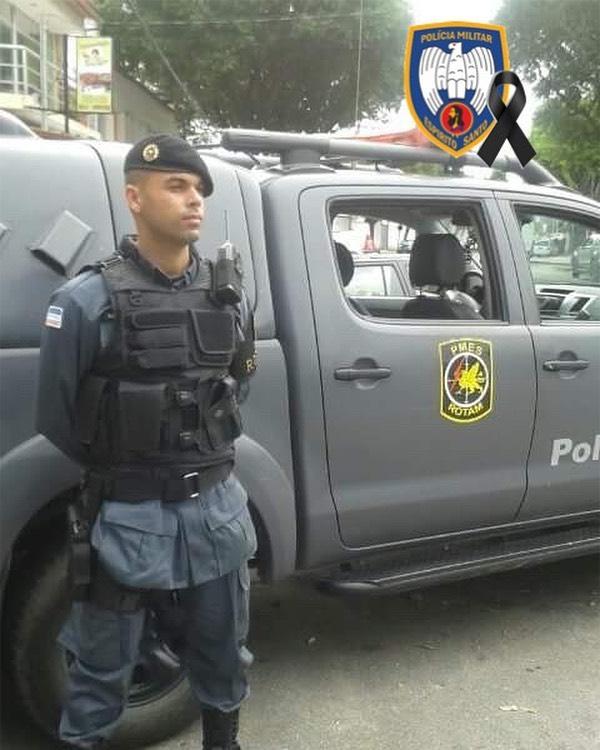O soldado Ronconi fazia parte da  Força Tática do 7º Batalhão de Cariacica e estava na PM desde 2013