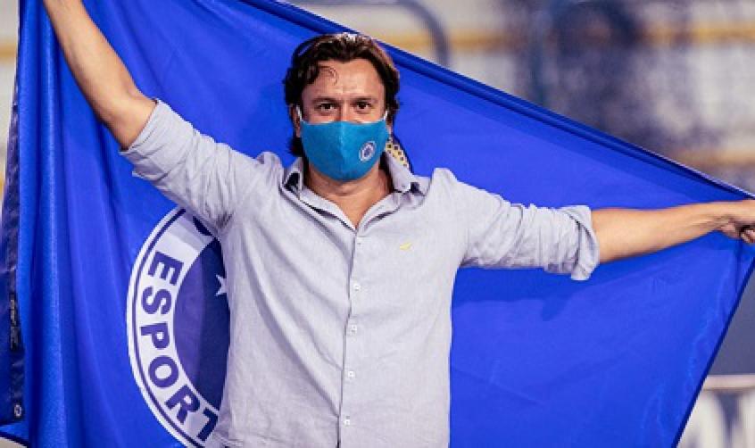 Crédito: Sérgio Rodrigues assume o Cruzeiro no dia 1º de junho-(Gustavo Aleixo/Cruzeiro