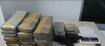 Tabletes de maconha foram encontrados em sacola