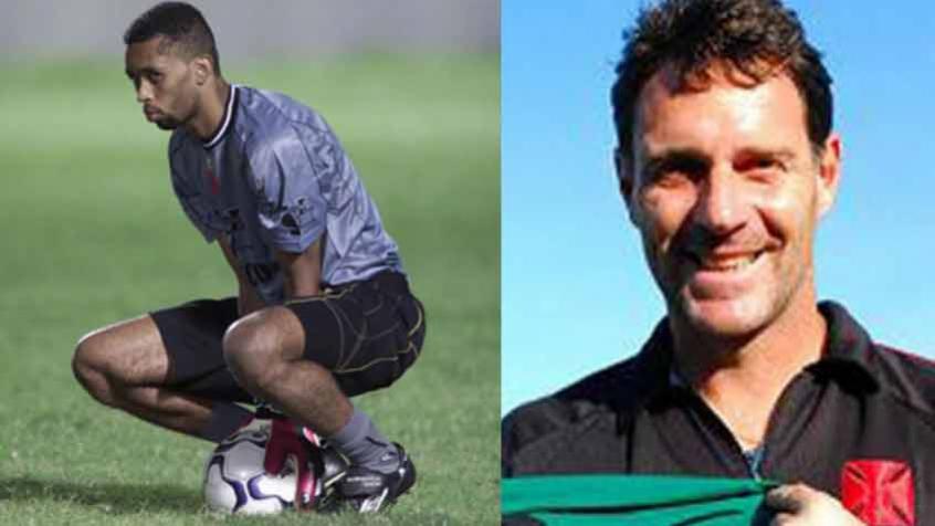 Crédito: Helton e Carlos Germano são nomes marcados na história vascaína (Cleber Mendes/Lancepress!; Divulgação